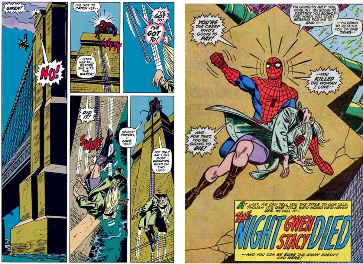 retrospective review: the death of gwen stacy – the vanguard
