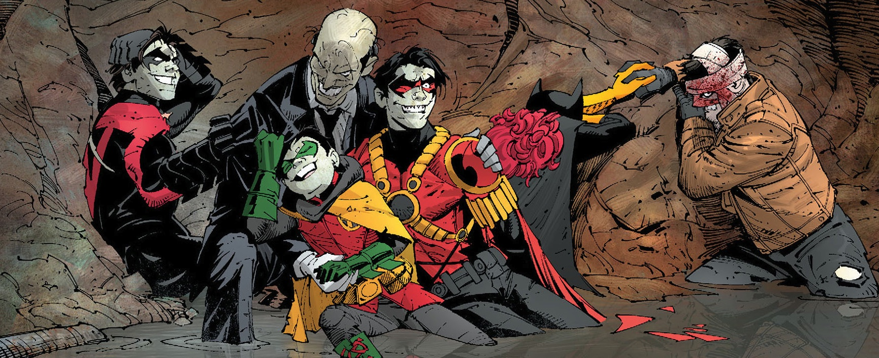 Download Batman: Death of the Family Book and Joker Mask Set